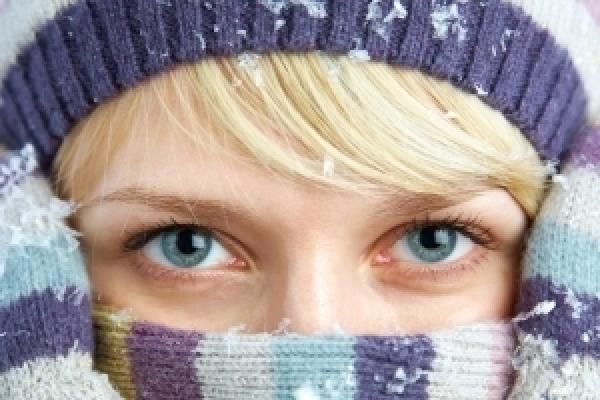Péče o oči v zimě